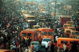 lagos busy street