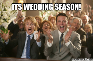 "Life is not like the film ""Wedding Crashers""."